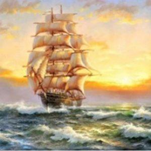 ערכת יהלומים – תמונת נוף אוניה- מספר קטלוג D17