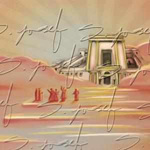 צביעה לפי מספרים – דוגמת בית המקדש – מספר קטלוג PS4
